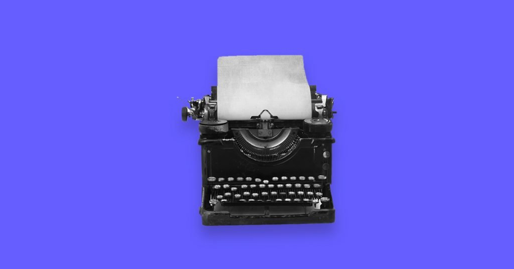 Typewriter - 6 Tips for Writing Excellent Ad Copies that Sell Like Crazy